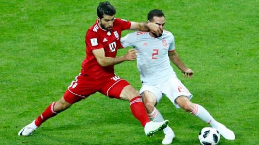 Irã x Espanha também esteve longe de ser um jogo tranquilo