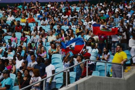Copa dos Refugiados 2018 teve etapa na Arena do Grêmio
