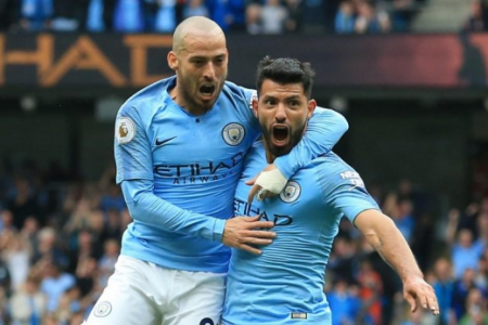 Manchester City - Aguero e David Silva