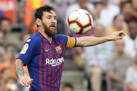 Messi - Barcelona x Huesca