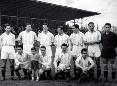 11c8407bb3 Real Valladolid campeão da segunda divisão espanhola em 1947-48