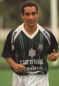Zinho no Palmeiras em 1998
