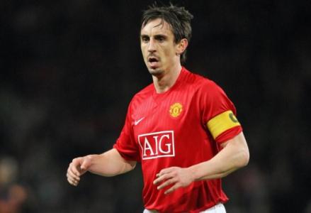 Gary Neville (Manchester United) - 15 participações