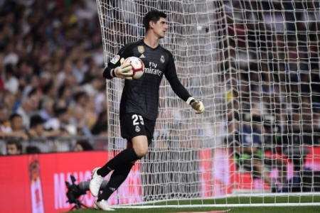 Real Madrid x Espanyol Courtois