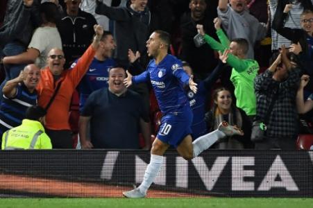 Hazard - Liverpool x Chelsea