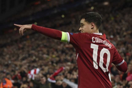 Philippe Coutinho - Liverpool 7x0 Spartak Moscou 2017/18