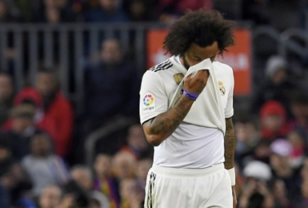 Marcelo - Barcelona x Real Madrid