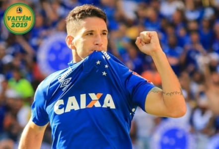 Thiago Neves do Cruzeiro COM SELO