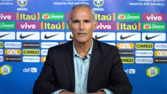 Carlos Amadeu, técnico da Seleção sub-20