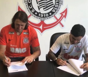 Cássio e Fagner renovam com o Corinthians