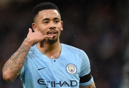 Gabriel Jesus - Manchester City x Burnley)
