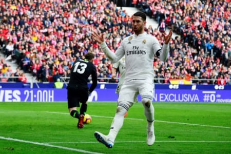 Sergio Ramos - Atletico de Madrid X Real Madrid
