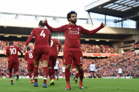 Salah - Liverpool x Bournemouth