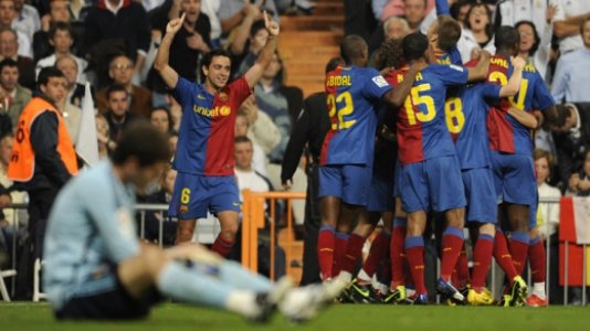 Real Madrid 2 x 6 Barcelona 2009