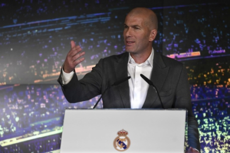 Coletiva Zidane - Real Madrid