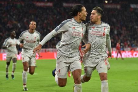Van Dijk - Bayern x Liverpool