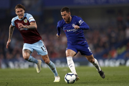 Chelsea x Burnley - Hazard