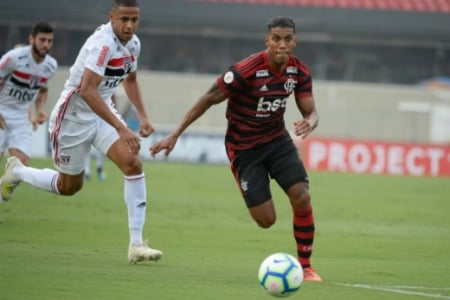 Berrío - Flamengo x São Paulo