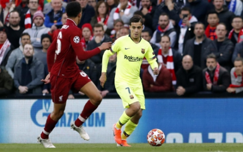 Coutinho - Liverpool x Barcelona
