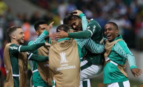 Gustavo Scarpa participou de quase metade dos gols do Palmeiras nesta Libertadores