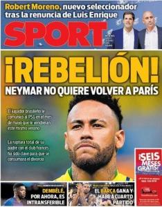 Neymar - Capa Sport
