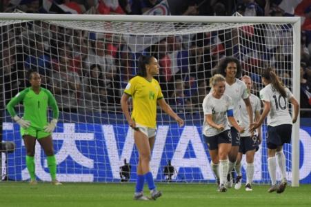 Brasil x França - Gol França