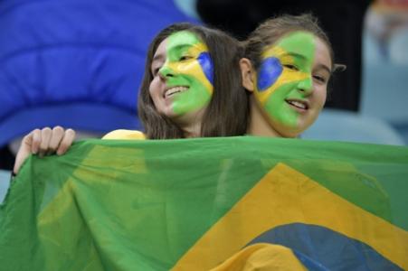 Brasil x Paraguai - Torcida