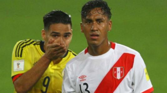 Peru 1 x 1 Colômbia, em 10/10/2017