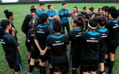 Treino Botafogo - Time Feminino