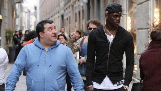 Mino Raiola e Balotelli
