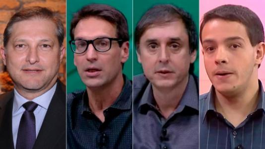 Montagem - Palomino, Arnaldo Ribeiro, Eduardo Tironi e Rafael Oliveira (ESPN)