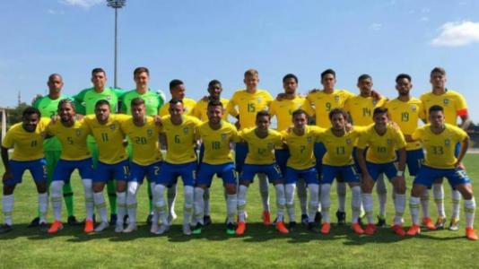 Seleção Brasileira Sub 23 amistoso Colombia