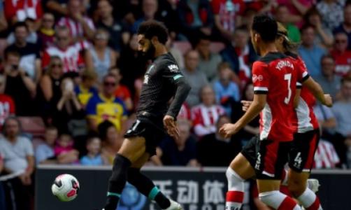 Salah - Liverpool x Southampton