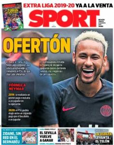 Capa - Jornal Sport