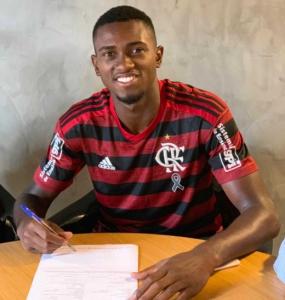 Otávio, Sub-17 do Flamengo