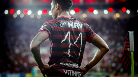 Flamengo x Atlético-MG - Vitinho