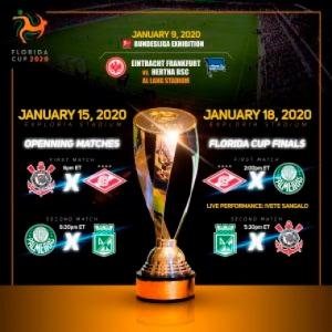 Flórida Cup - Tabela