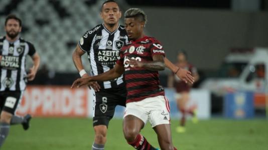 Botafogo x Flamengo - Bruno Henrique