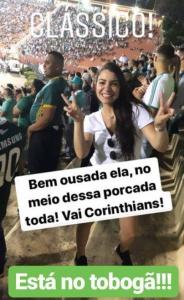 Palmeiras x Corinthians - Torcedora