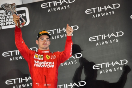 Charles Leclerc (Ferrari) Abu Dhabi F1 2019