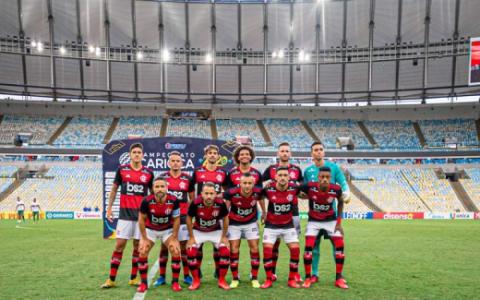 Flamengo escalado! Confira o time que Jorge Jesus mandará a campo contra o Fluminense