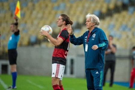 Jorge Jesus - Bangu x Flamengo