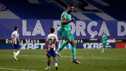 Espanyol x Real Madrid - Casemiro