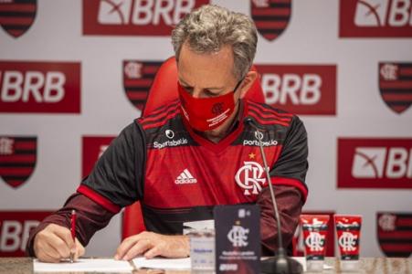Rodolfo Landim - presidente do Flamengo