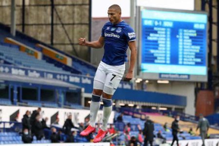Everton x Southampton - Richarlison