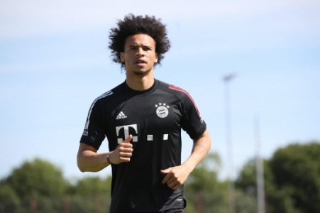 Sané - Treino - Bayern de Munique