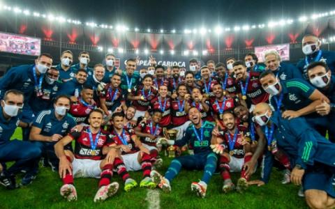 Equipe - Flamengo Campeão Carioca 2020