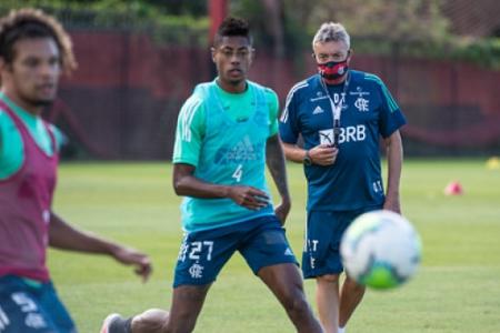 Domenec Torrent - Treino do Flamengo