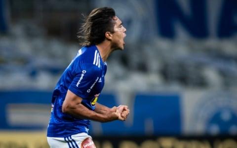 Comemoração Marcelo Moreno - Cruzeiro x CRB