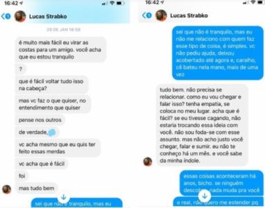 Cartolouco admite agressão a ex-namorada 1